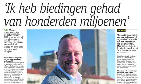 Interview Maasbert Schouten Metro